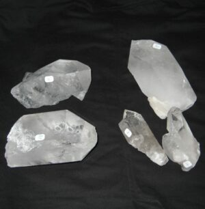 cristal de roche pointe naturelle