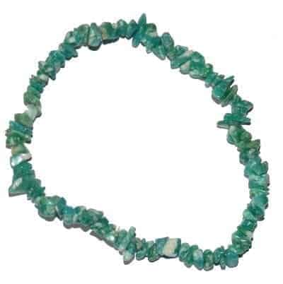 bracelet baroque amazonite