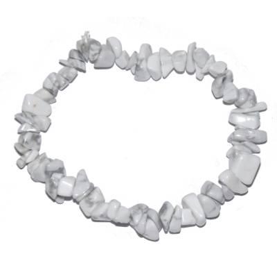 bracelet baroque howlite