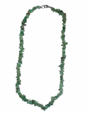 collier chrysoprase baroque 45cm
