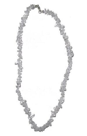 collier cristal de roche baroque