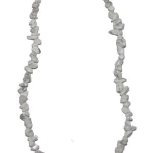 collier baroque howlite