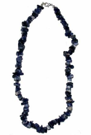 collier sodalite baroque 45cm