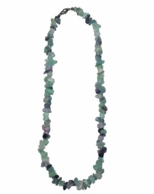 collier fluorite baroque