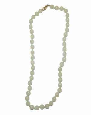 collier jade boules