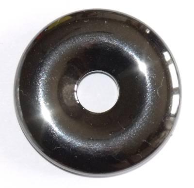 pendentif donut pi chinois hématite