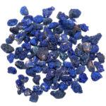 pépite d'azurite, pierre brute