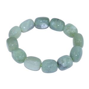 bracelet pierres ovale de jade
