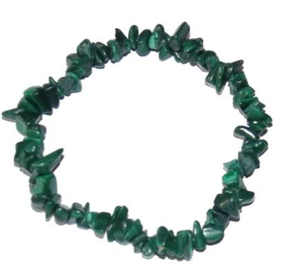 bracelet baroque malachite