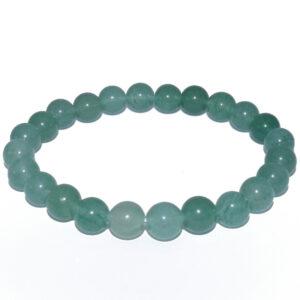 bracelet aventurine verte boule