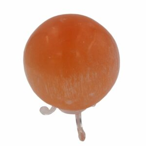 sphere selenite orange