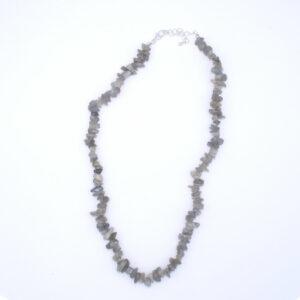 collier labradorite baroque 45 cm