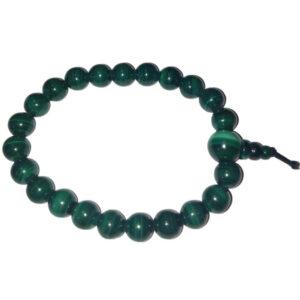 bracelet mala en malachite