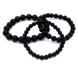 bracelet obsidienne oeil celeste arc en ciel 3 tailles